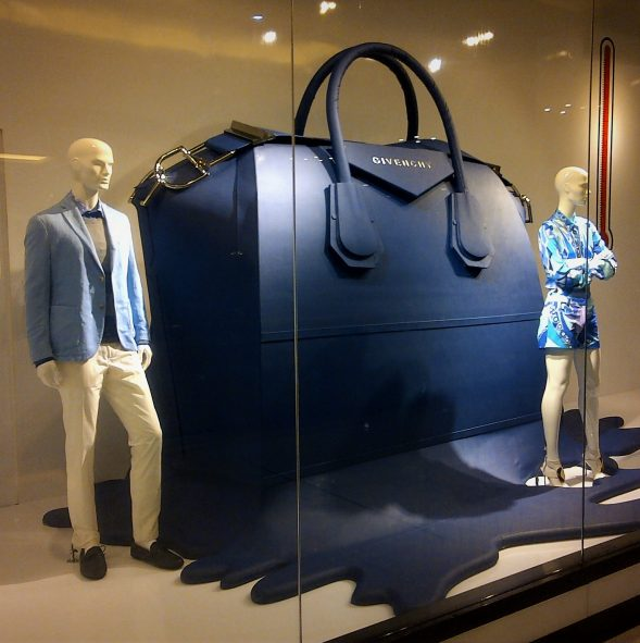 Bloomingdales Window displays Project N°3 produced and installed by Sign works Dubai
