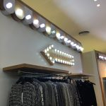 Bloomingdales retail fixtures by Sign Works in Dubai Mall