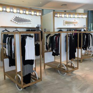 Bloomingdales Retail fixtures by Sign Works