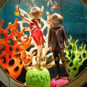 Bloomingdales Window displays Project N°4 produced and installed by Sign works Dubai