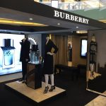 Burberry Pop-up shop produced and installed by Sign Works
