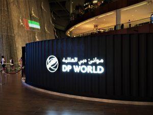 DP world Exhibition stand Dubai