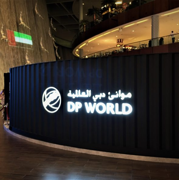 DP world Exhibition stand Dubai