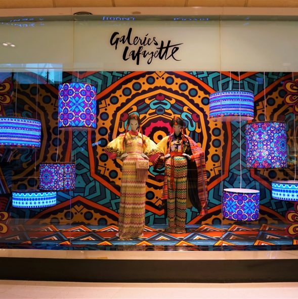 Galeries Lafayette window displays produced and installed by Sign Works Img_5