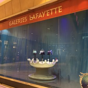 Galeries Lafayette window displays produced and installed by Sign Works