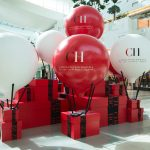 Carolina Herrera Visual Merchandising at Dubai Mall