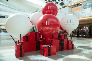 Carolina Herrera Visual Merchandising at Dubai Mall