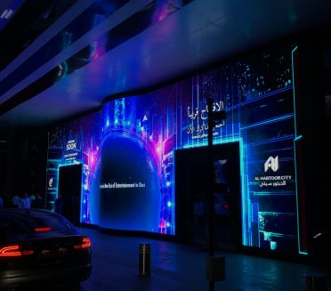 La Perle retail signage by Sign Works in Dubai