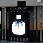 Ysl pop-up store produced and installed by Sign Works in Dubai Mall