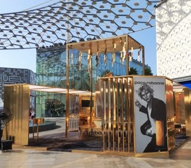 Paco Rabanne Pop-up Display by Sign Works