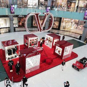 Valentino Pop-up Dubai Mall, UAE