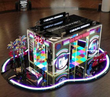 Carolina Herrera 212 Party Fever Pop-up Dubai Mall