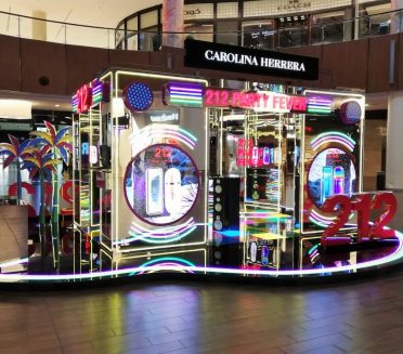 Carolina Herrera 212 Party Fever Pop-up BY Sign Works