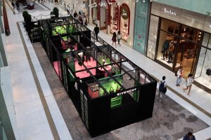 Givenchy Winter of Eden Pop-up retail store by Sign Works
