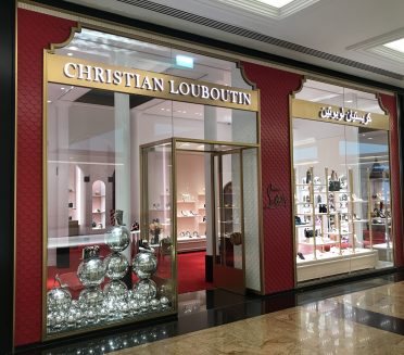 Christian Louboutin Windows by Sign Works across GCC