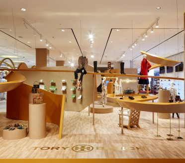 Tory Burch Pop-up by Sign Works Dubai