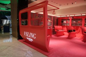 Valentino Vsling Pop-up by Sign Works at Dubai Mall,UAE