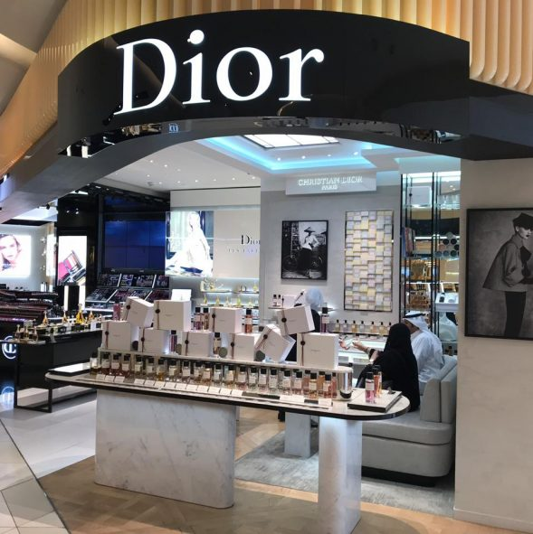 Christian Dior Retail fixtures in Avenue's mall Kuwait Image 1